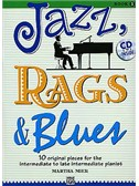 Martha Mier; Jazz, Rags & Blues, Book 3