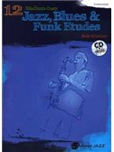 Bob Mintzer: 12 Jazz, Blues, and Funk Etudes (Book/CD)