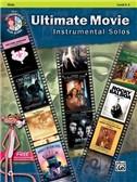 Ultimate Movie Instrumental Solos: Viola (Book/CD)