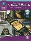 Alfred's Instrumental Play-Along: Top Hits From TV, Movies & Musicals - Cello (Book/CD)