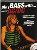 Play Bass With... The Best Of AC/DC. Bass Guitar Sheet Music, CD