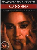 Songs For Solo Singers: Madonna. PVG Sheet Music, CD