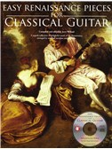 Easy Renaissance Pieces For Classical Guitar. Guitar Tab Sheet Music, CD