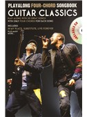 Playalong Four-Chord Songbook: Guitar Classics