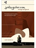 The Justinguitar.com Vintage Songbook. Sheet Music