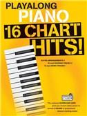 Playalong Piano: 16 Chart Hits (Book/Audio Download)