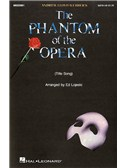 Andrew Lloyd Webber: The Phantom Of The Opera (Title Song)- SATB/Piano