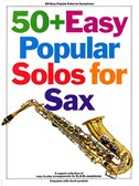 50  Easy Popular Solos For Saxophone Bb And Eb Instruments