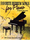 Favourite Hebrew Songs For Piano