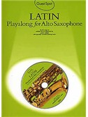 Guest Spot: Latin Playalong For Alto Saxophone