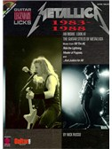 Metallica: 1983-1988 Legendary Guitar Licks
