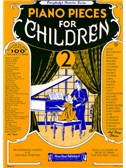 Piano Pieces For Children Volume 2