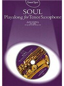 Guest Spot: Soul Playalong For Tenor Saxophone