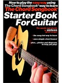 The Chord Songbook Starter Book For Guitar