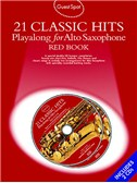 Guestspot: 21 Classic Hits Playalong For Alto Saxophone - Red Book