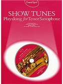 Guest Spot: Show Tunes Playalong For Tenor Saxophone
