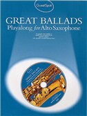 Guest Spot: Great Ballads Playalong For Alto Saxophone