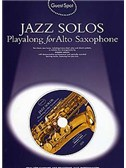 Guest Spot: All jazz Solos For Alto Saxophone