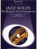 Guest Spot: All jazz Solos For Tenor Saxophone