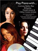 Play Piano With... Corrine Bailey Rae, Rihanna, Norah Jones And Other Great Artists (Book And CD). PVG Sheet Music, CD