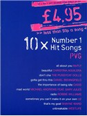 £4.95 - 10 Number One Hit Songs