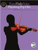 Solo Début Series: Easy Violin Solos: Playalong Pop Hits (Book/CD)