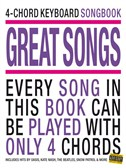 4-Chord Keyboard Songbook - Great Songs