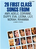 26 First Class Songs From Amy, Adele, Corinne, Duffy, Eva, Leona, Lily, Norah, Rihanna And Many Others