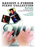 Easiest 5-Finger Piano Collection: Ballads