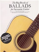 The Big Book Of Ballads For Acoustic Guitar (Book And DVD)