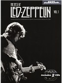 Play Bass With... The Best Of Led Zeppelin - Volume 1. Bass Guitar Sheet Music, 2 x CD
