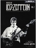 Play Bass With... The Best Of Led Zeppelin - Volume 2. Bass Guitar Sheet Music, 2 x CD