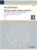 Giovanni Pierluigi da Palestrina: Ricercari