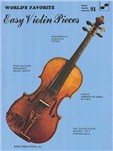 Easy Violin Pieces 91 Worlds Favorite