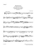 Joseph Haydn: Concerto For Violin In C (Hob.VIIa:1) Violin II Part. Sheet Music
