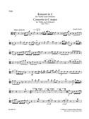 Joseph Haydn: Concerto For Violin In C (Hob.VIIa:1) Viola Part. Sheet Music