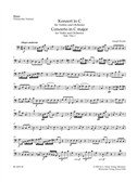 Joseph Haydn: Concerto For Violin In C (Hob.VIIa:1) Cello/Bass Part. Double Bass Sheet Music