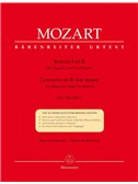 Wolfgang Amadeus Mozart: Concerto for Bassoon in B-flat (K.191) (K.186e) (Urtext).