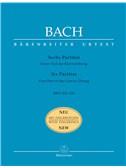 J.S. Bach: Partitas (6), (Klavieruebung Part 1) (BWV 825-830) (Urtext).