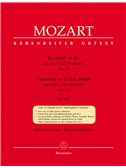 W.A. Mozart: Horn Concerto No.3 In E Flat K.447. French Horn Sheet Music