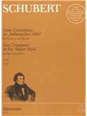Franz Schubert: Two Overtures In The Italian Style For Piano Duet D 592 Und D 597