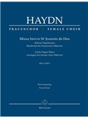 Joseph Haydn: Missa Brevis St Joannis De Deo - Little Organ Mass: Hob.XXII:7 - Arrangement For Female Choir SMezAA: Vocal Score. Choral Sheet Music