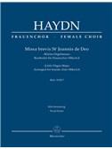 Joseph Haydn: Missa Brevis St Joannis De Deo - Little Organ Mass: Hob.XXII:7 - Arrangement For Female Choir SMezAA: Vocal Score. Choral Sheet Music