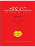 Wolfgang Amadeus Mozart: Fantasie In D-Moll Für Klavier