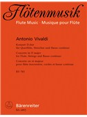 A. Vivaldi: Concerto For Flute In D RV783 (Score and Parts). Sheet Music