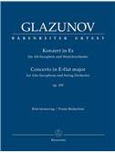 A. Glazunov: Alto Saxophone Concerto Op.109 (Alto Saxophone & Piano)