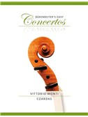 Vittorio Monti: Czardas (Bärenreiter's Easy Concertos)