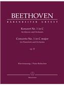 Ludwig Van Beethoven: Concerto No.1 In C Major Op.15 For Piano - Piano Reduction
