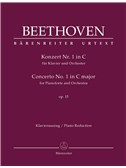 Ludwig Van Beethoven: Concerto No.1 In C Major Op.15 For Piano - Full Score