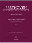 Concerto For Pianoforte And Orchestra No. 2 B-Flat Major Op. 19